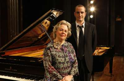 Teresina Jordá y Pablo Rueda. Concierto Recital de dúo de pianos