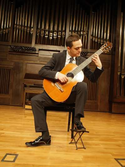 Francisco Bernier. Concierto Recital de guitarra