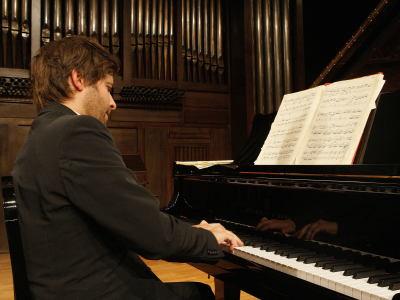 David Gómez. Concierto Recital de piano