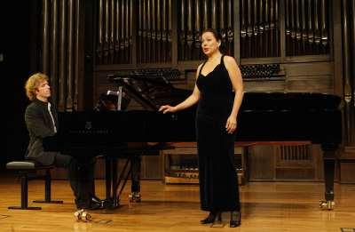 Cameron Roberts y Gloria Londoño. Concierto Recital de canto y piano