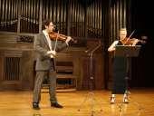 Shahar Rosenthal y Amaya Barrachina. Concierto Recital para dos violines
