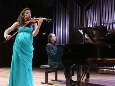 Paula Martínez y Marco Fatichenti. Concierto Recital de violín y piano