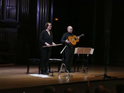 Duo Caprice, Diana Ojeda Dissez y José Antonio García Fuertes. Concierto Recital de flauta y guitarra