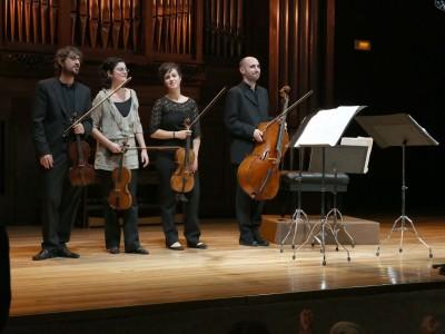 Atrium Ensemble, Cecilia Clares, Lola Fernández, Guillermo Turina y Roger Junyent. Concierto Recital de música de cámara