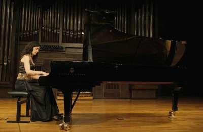 Elisa Vázquez Doval. Concierto Recital de piano