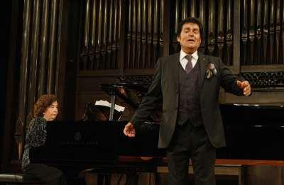 Ana María Gorostiaga y Domingo Cedrés. Concierto Recital de canto y piano