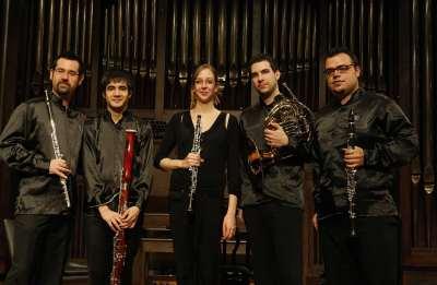 Quinteto Janacek, Ory Schneor, Manuel Arellano, David Melgar, Blanca Sans y Javier Olmeda. Concierto Recital de música de cámara