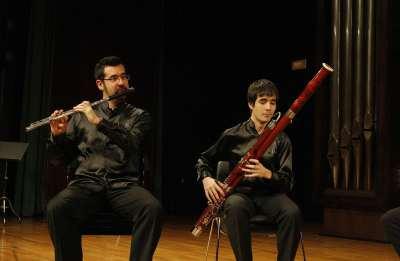 Ory Schneor y Manuel Arellano. Concierto Recital de música de cámara