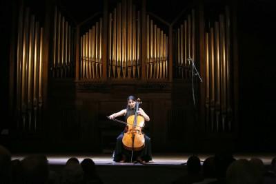Iris Azquinezer. Concierto Recital de violonchelo