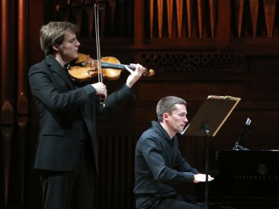 Miguel Colom y Denis Lossev. Concierto Recital de violín