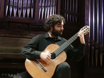 Sergio Franqueira. Concierto Recital de guitarra