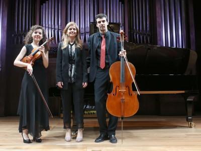 Trio Attenelle, Anna Urpina, Daniel Claret y María Manzano. Concierto Recital de Música de Cámara