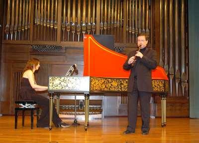 Álvaro Marías y Sara Erro. Concierto La flauta española