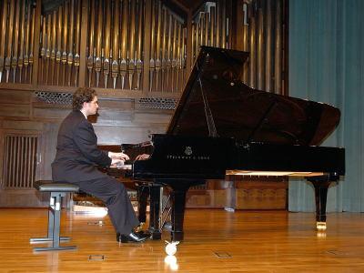 Eduardo Fernández García García. Concierto El último piano español