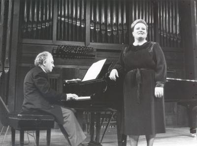Ifigenia Sánchez y Miguel Zanetti. Recital de canto y piano