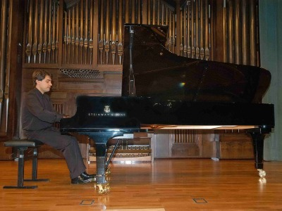 Gustavo Díaz Jerez. Concierto El último piano español