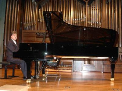 Albert Nieto. Concierto El último piano español