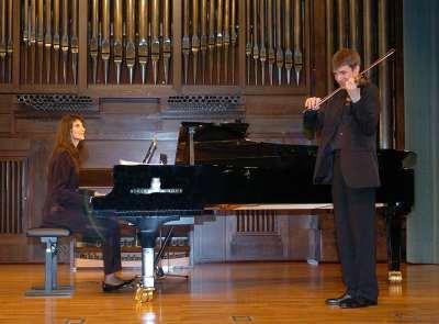 Vladimir Anohin y Elisaveta Blumina. Concierto Recital de música de cámara