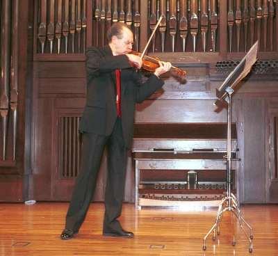 Francisco Comesaña. Concierto El violín en España