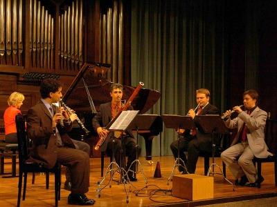 Quinteto INCONTRO 5 y Ana Guijarro. Concierto Quintetos de viento y piano