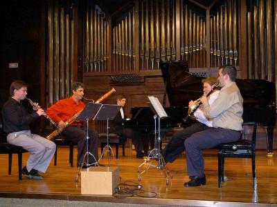 Quinteto INCONTRO 5. Concierto Quintetos de viento y piano