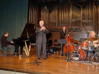 Pedro Iturralde y Cuarteto de Pedro Iturralde. Concierto Cuatro historias del jazz