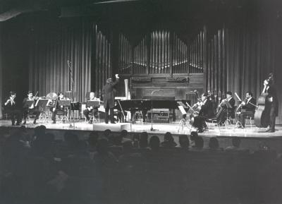 José Luis Temes y Grupo Círculo. Concierto Tribuna de jóvenes compositores