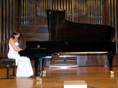 Fabiane de Castro. Concierto Música brasileña
