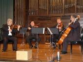 Levon Melikian, Zorik Tatevosyan, Sergey Savrov y Serguei Mesropian. Concierto Música de cámara armenia