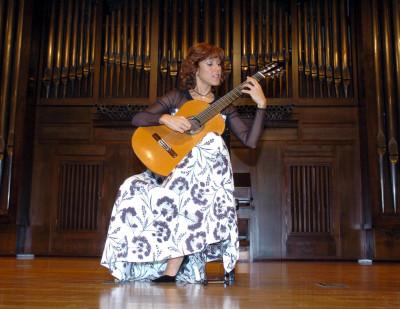 Carmen María Ros. Concierto La guitarra moderna - La guitarra española