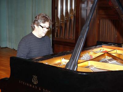 Chano Domínguez. Concierto Conciertos de jazz: el piano. En recuerdo de Tete Montoliú.