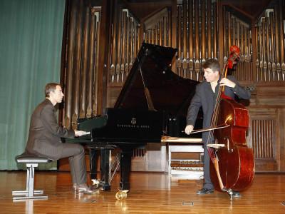 Horacio Fumero y Albert Bover. Concierto Conciertos de jazz: el piano. En recuerdo de Tete Montoliú