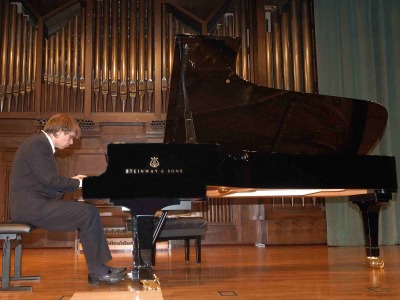 Pablo Galdo. Concierto Quinta tribuna de jóvenes intérpretes: el piano