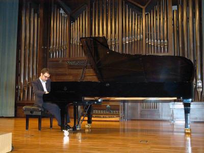 Manuel Tevar. Concierto Quinta tribuna de jóvenes intérpretes: el piano