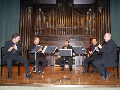 Quinteto de Viento Aubade. Concierto Quintetos de viento y metal