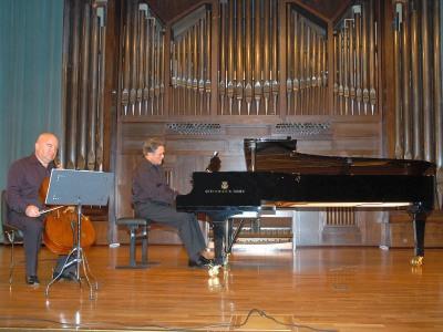 Dimitar Furnadjiev y Anatoly Pouzoun. Concierto Música eslava