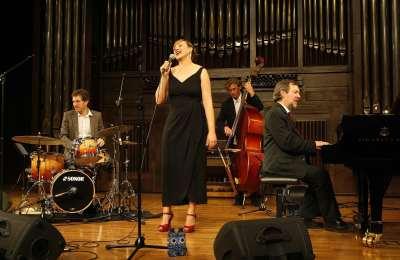 Susana Sheiman & Ignasi Terraza Trío, Susana Sheiman y Ignasi Terraza. Concierto Voces clásicas del jazz: Fitzgerald y Holiday