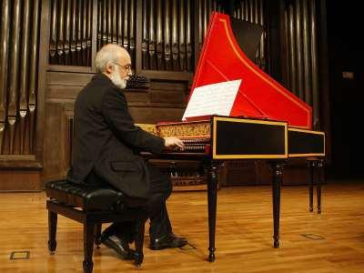 Lorenzo Ghielmi. Concierto Frescobaldi y la escuela romana de clave