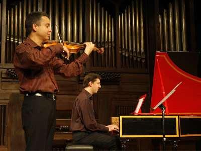 Justo Blai y Ewald Demeyere. Concierto Vivaldi, compositor para la cámara