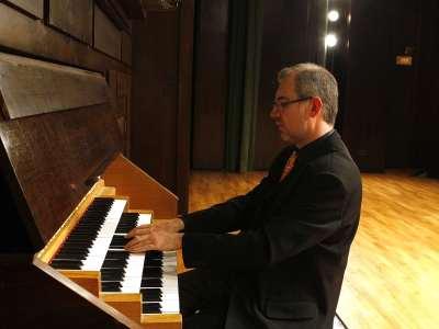 Andrés Cea. Concierto El legado de Cabezón: el tiento ibérico para órgano