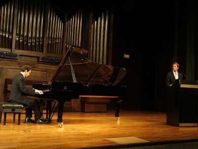 Yoram Ish-Hurwitz y Arturo Arribas. Concierto Liszt como narrador. Los años de peregrinaje relatados por el compositor
