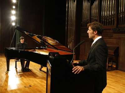 Javier Otero Neira y Arturo Arribas. Concierto Liszt como narrador. Los años de peregrinaje relatados por el compositor