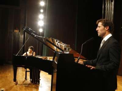 Alba Ventura y Arturo Arribas. Concierto Liszt como narrador. Los años de peregrinaje relatados por el compositor