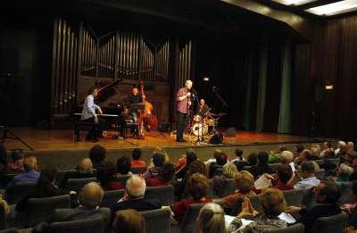 Andreas Prittwitz Quartet, Andreas Prittwitz, Pedro Sarmiento, Víctor Merlo y José San Martín. Concierto Classic & Jazz - Clásicos en jazz