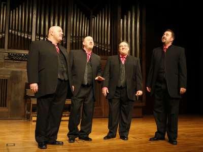 Crossroads, Mike Slamka, Fred Farrell, Brandon Guyton y Jim Henry. Concierto Cuartetos exóticos