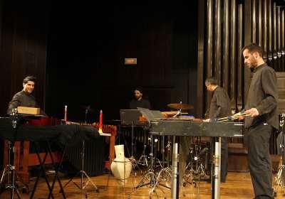 Esclats - Cuarteto de percusión, Juan Ponsoda, Antonio Sola, Enrique González y Juan Francisco Carrillo. Concierto Cuartetos exóticos