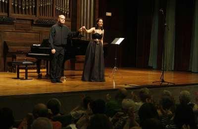 Jorge Robaina y María Rey-Joly. Concierto Las zarzuelas de los Fernández-Shaw