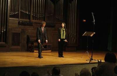 Yifen Chen y Marc Hantai. Concierto Telemann, el barroco del norte
