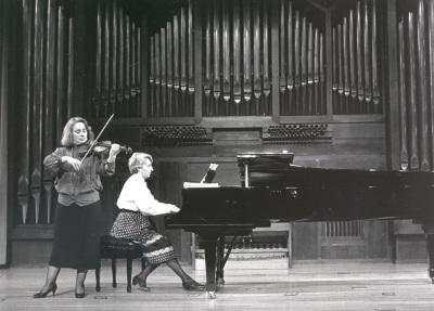Polina Kotliarskaya y María Manuela Caro. Recitales para Jóvenes
