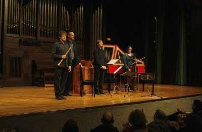 Hippocampus, Alberto Martínez Molina, Fernando Paz, Xavier Blanch y Ruth Verona. Concierto Telemann, el barroco del norte